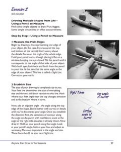 Anyone Can Draw in Ten Sessions Book - page 27 drawing lesson