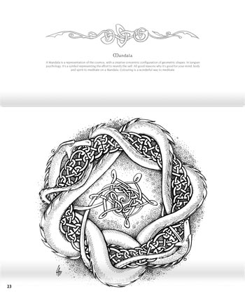 We Be Dragons Colouring Book interior colouring page